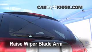 Rear Wiper Blade Change Buick Rendezvous (2002-2007)