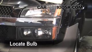 Highbeam (Brights) Change: 2002-2006 Chevrolet Avalanche 1500