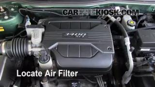 Cabin Filter Replacement: Chevrolet Equinox 2005-2009
