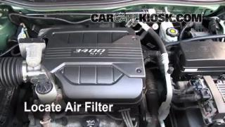 2005-2009 Chevrolet Equinox Engine Air Filter Check