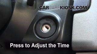 How to Set the Clock on a Chevrolet Equinox (2005-2009)