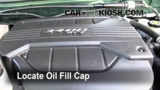How to Add Oil Chevrolet Equinox (2005-2009)