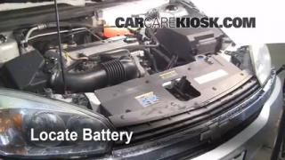 Battery Replacement: 2005-2010 Chevrolet Corvette