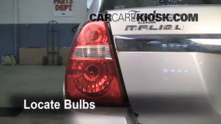 Tail Light Change 2004-2008 Chevrolet Malibu