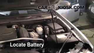 Battery Replacement: 2002-2009 Chevrolet Trailblazer