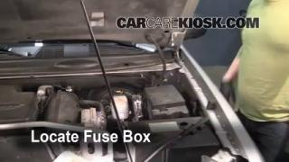 Blown Fuse Check 2002-2009 Chevrolet Trailblazer