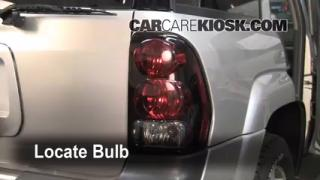 Tail Light Change 2002-2009 Chevrolet Trailblazer