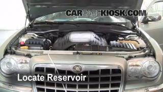 Add Windshield Washer Fluid Chrysler 300 (2005-2010)