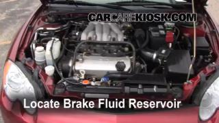 Add Brake Fluid: 2001-2006 Chrysler Sebring