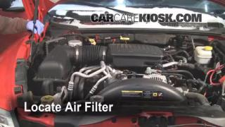 Air Filter How-To: 2005-2011 Dodge Dakota
