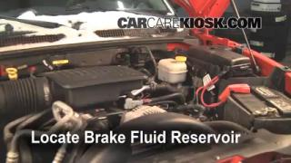 2005-2011 Dodge Dakota Brake Fluid Level Check