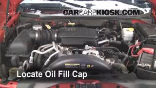 How to Add Oil Dodge Dakota (2005-2011)
