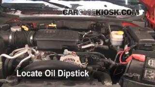 Check Oil Level 2005-2011 Dodge Dakota