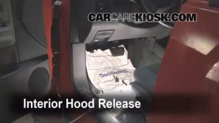 Open Hood How To 2005-2011 Dodge Dakota