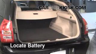 Battery Replacement: 2005-2008 Dodge Magnum