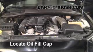 How to Add Oil Dodge Magnum (2005-2008)