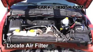 Air Filter How-To: 2002-2005 Dodge Ram 1500