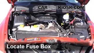 Blown Fuse Check 2002-2005 Dodge Ram 1500