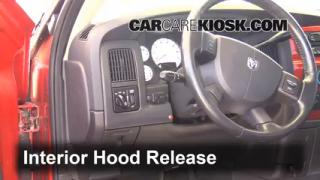 Open Hood How To 2002-2005 Dodge Ram 1500