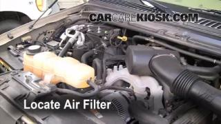 Air Filter How-To: 2000-2005 Ford Excursion