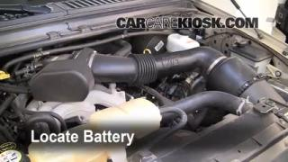 Battery Replacement: 2000-2005 Ford Excursion