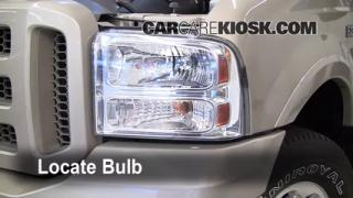 Headlight Change 2000-2005 Ford Excursion