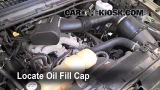 How to Add Oil Ford Excursion (2000-2005)