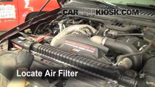 1999-2007 Ford F-250 Super Duty Engine Air Filter Check