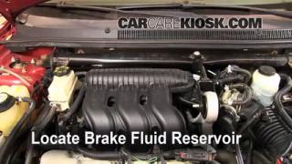 2005-2007 Ford Five Hundred Brake Fluid Level Check