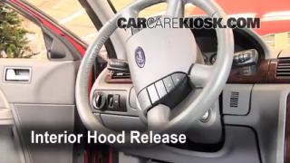 Open Hood How To 2005-2007 Ford Five Hundred