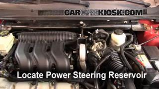 Follow These Steps to Add Power Steering Fluid to a Ford Five Hundred (2005-2007)