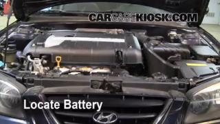 How to Clean Battery Corrosion: 2001-2006 Hyundai Elantra