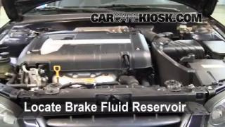 Add Brake Fluid: 2001-2006 Hyundai Elantra