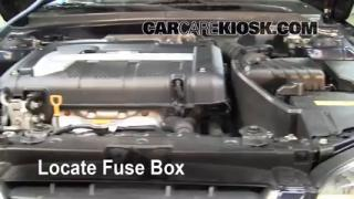 Blown Fuse Check 2001-2006 Hyundai Elantra