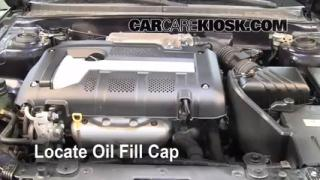 How to Add Oil Kia Spectra (2004-2009)