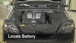 Battery Replacement: 2003-2008 Hyundai Tiburon