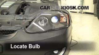 Headlight Change 2003-2008 Hyundai Tiburon