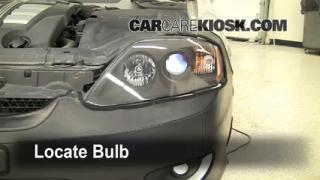 Parking Light Change 2003-2008 Hyundai Tiburon