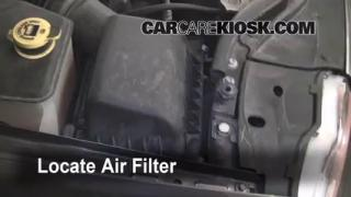 2005-2010 Jeep Grand Cherokee Engine Air Filter Check