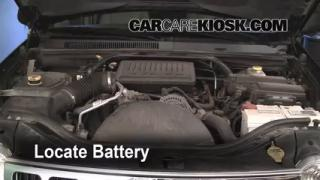 Battery Replacement: 2005-2010 Jeep Grand Cherokee