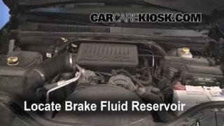 2005-2010 Jeep Grand Cherokee Brake Fluid Level Check