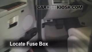 Interior Fuse Box Location: 2005-2010 Jeep Grand Cherokee