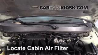 2000-2007 Ford Taurus Cabin Air Filter Check