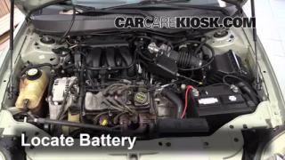 How to Jumpstart a 2000-2007 Ford Taurus