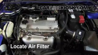 2000-2005 Mitsubishi Eclipse Engine Air Filter Check