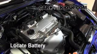 How to Clean Battery Corrosion: 2000-2005 Mitsubishi Eclipse