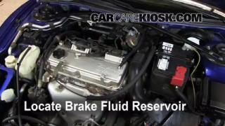 Add Brake Fluid: 2000-2005 Mitsubishi Eclipse