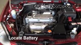 How to Clean Battery Corrosion: 2002-2007 Mitsubishi Lancer