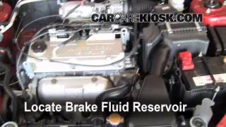Add Brake Fluid: 2002-2007 Mitsubishi Lancer