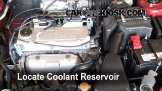 Coolant Level Check: 2002-2007 Lancer